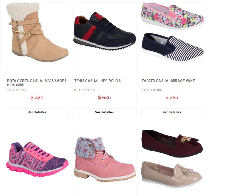 Calzado infantil en Price Shoes