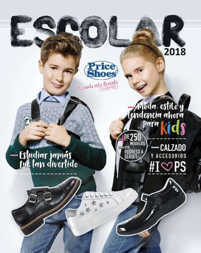 c0df31abc Price Shoes Catálogo Escolar 2018 | Hojéalo Completo