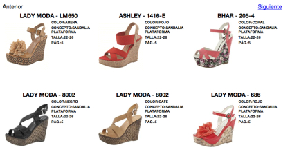 catalogo digital bl shoes