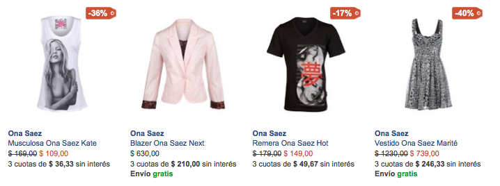 outlet ona zaez shop online