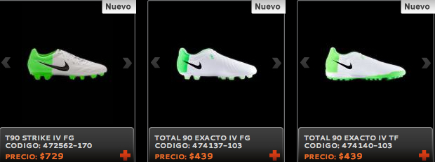 T90 botines Nike outlet