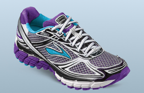zapatillas Brooks morado