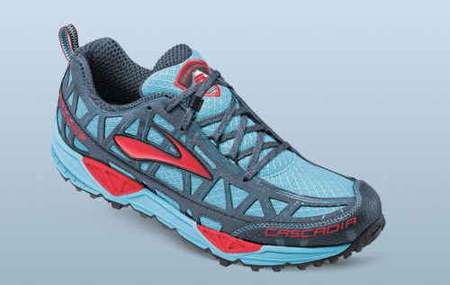 modelo Trail Brooks azul