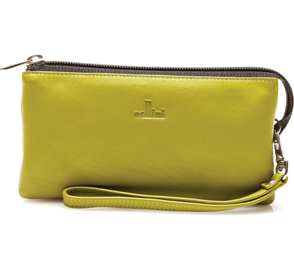 David Jones bolsa mano verde