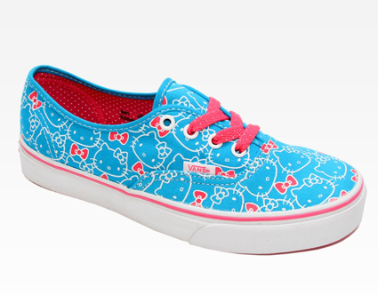 zapatillas Vans Hello Kitty