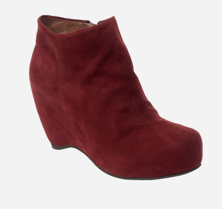 booties Pollini rojo outlet mujer