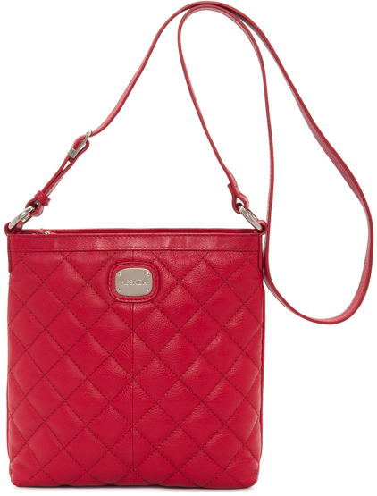 bolsa roja textura David Jones