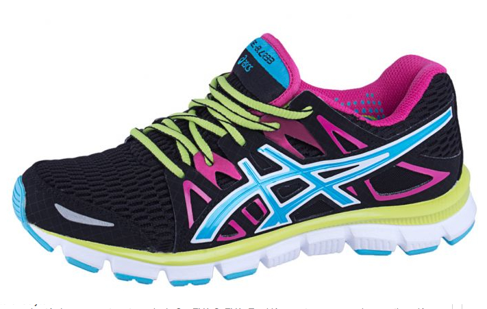 zapatillas running Asics multicolor