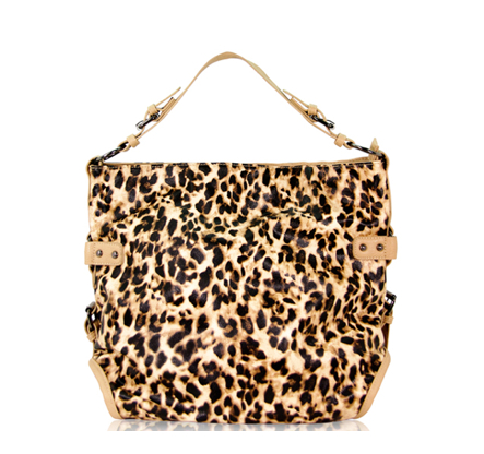 bolsa piel Animal Print Leopardo