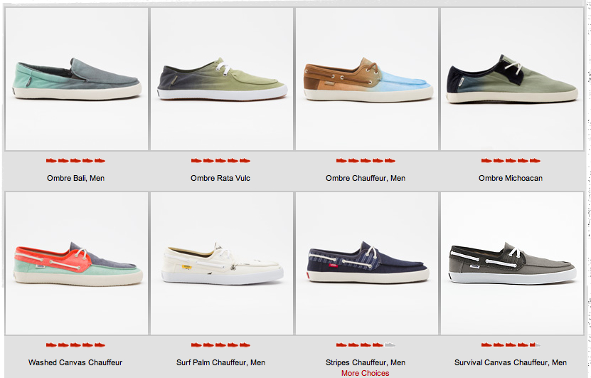 Vans zapatos en outlet