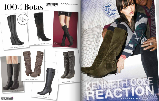 botas Ripley Kenneth Cole 2013