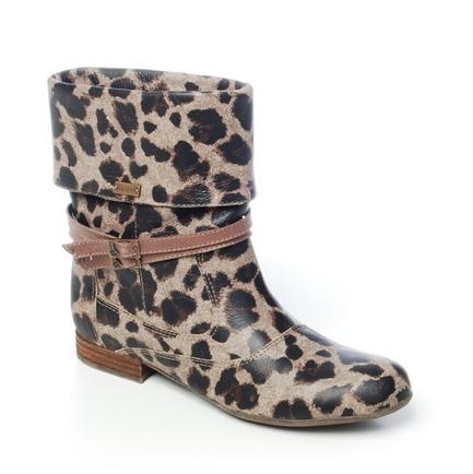 Botas Lady Stork con estampado Animal Print