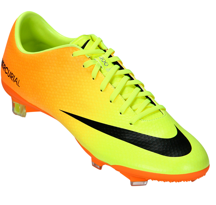 Nike Mercurial Safari anaranjados amarillo