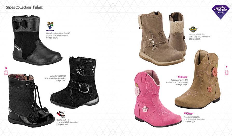 Shoes Collection Pakar 2013 botas niñas