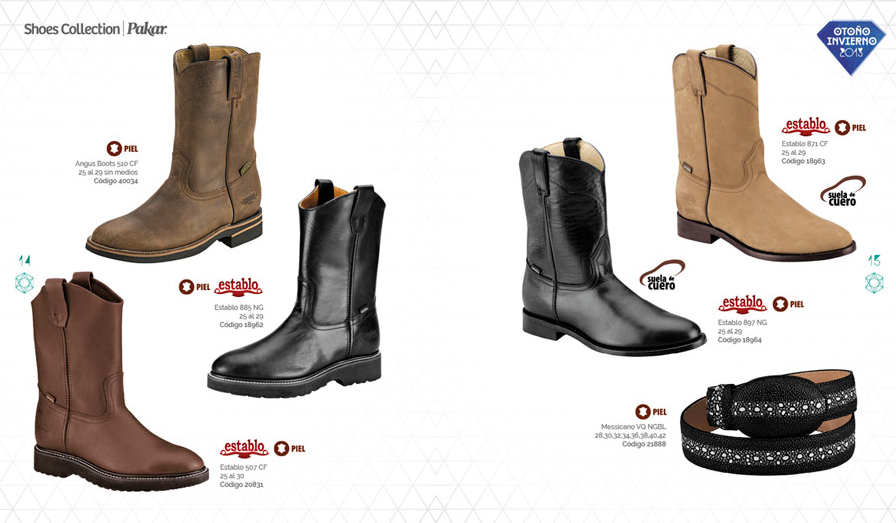 botas hombre camel negras invierno Shoes Collection Pakar