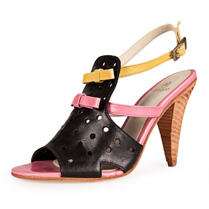 Blaque zapatos 2014 sandalias multicolor