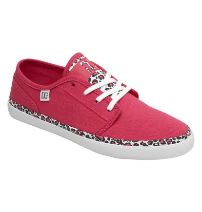 DC Shoes 2014, zapatillas urbanas en color rojo