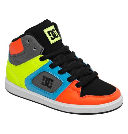zapatillas multicolor DC Shoes 2014 niños