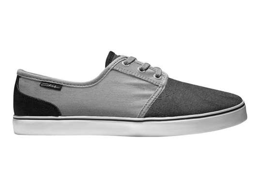 Zapatillas C1rca shoes en color gris con negro para deporte skate