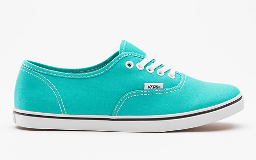 tenis Vans baratos Canvas Authentic azul aqua