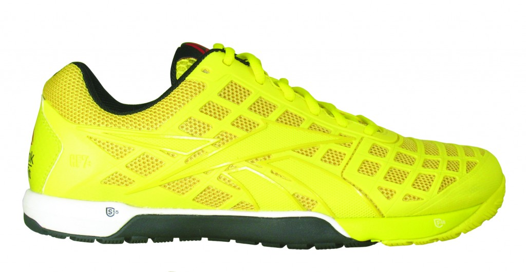 zapatillas Reebok Crossfit 2014 amarillo