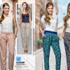 pantalones estampado floral tela Price Shoes ropa 2014 moda