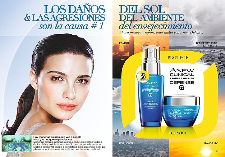 catálogo Avon mayo 2014 Colombia Anew Clinical Defense FPS