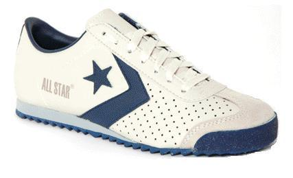 zapatillas All Star blancas con azul marino baratas