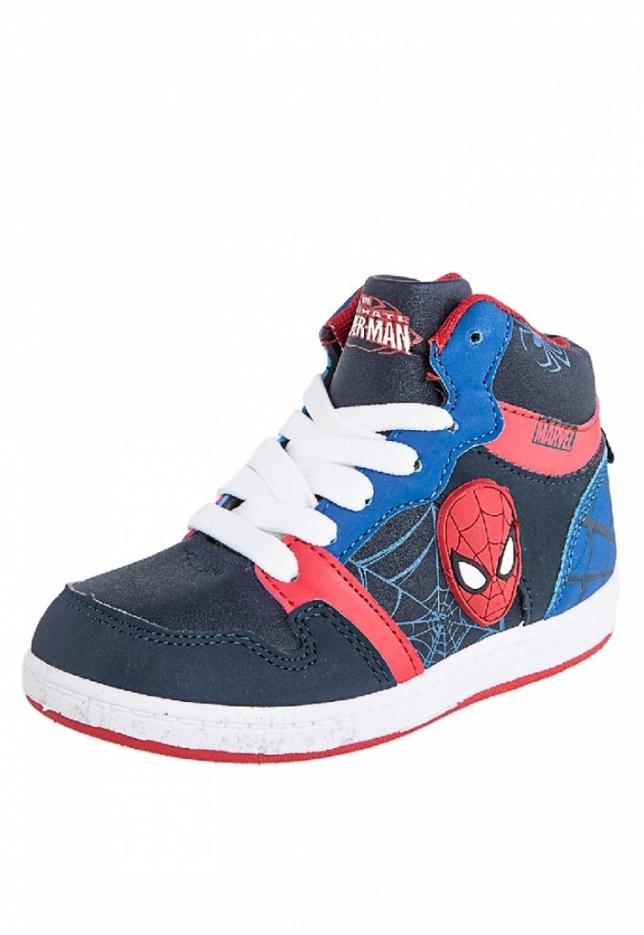 zapatos para niños marca Spiderman color azul marino modelo Bruno