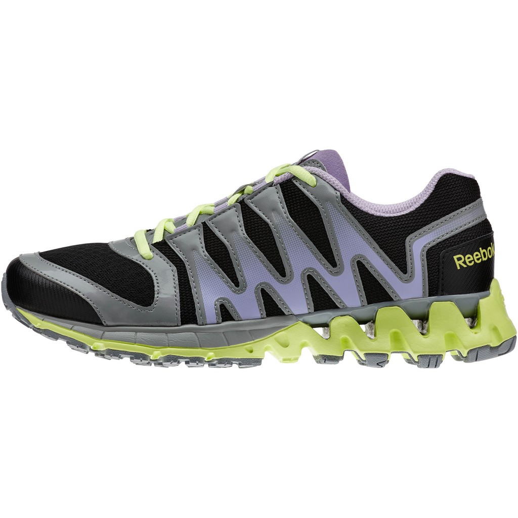 zapatillas Zigtech Tahoe Trainer en color gris y negro