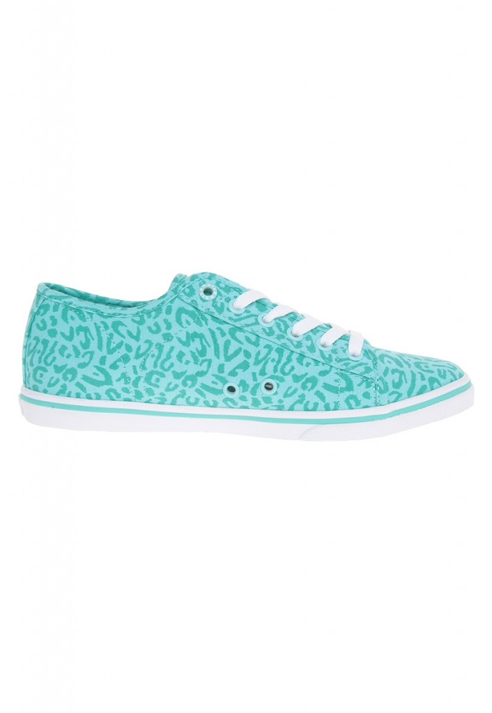 Vans Authentic color azul agua con estampado original baratas