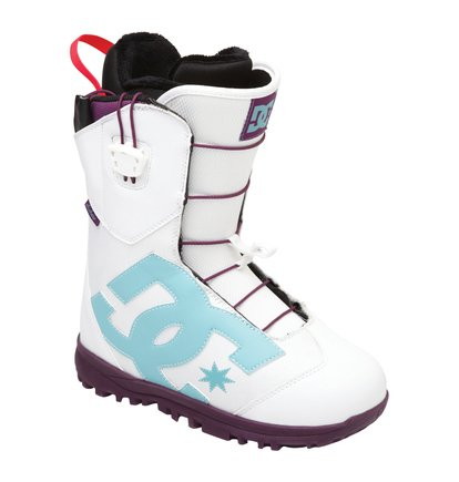 Botas Snow DC Shoes para mujer en color blanco