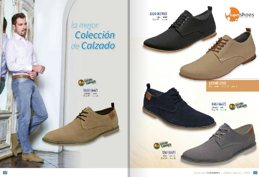 Calzado casual para caballero en Super Shoes