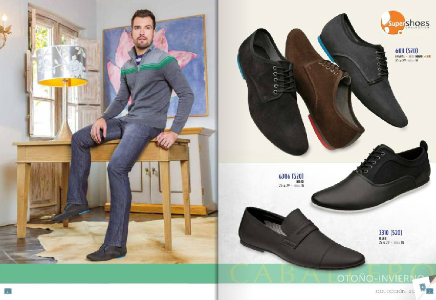 Super Shoes mocasines en piel y gamuza para caballero
