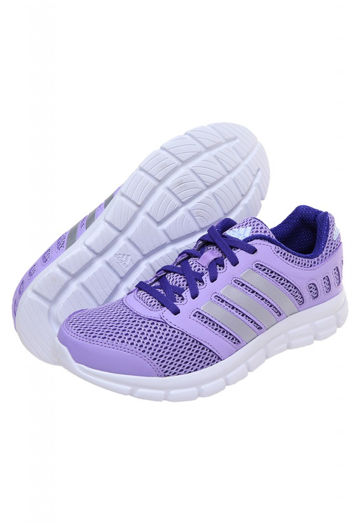 Tenis para dama Adidas Breeze color violeta
