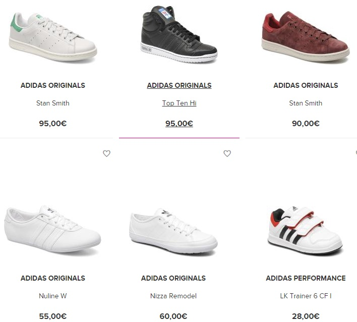 Zapatillas Adidas Originals en colores blanco y negro