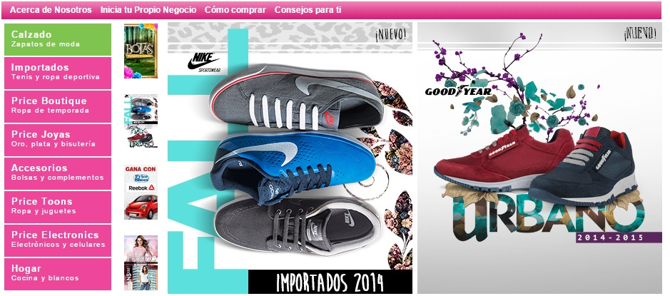 Price Shoes en El Buen Fin 2014