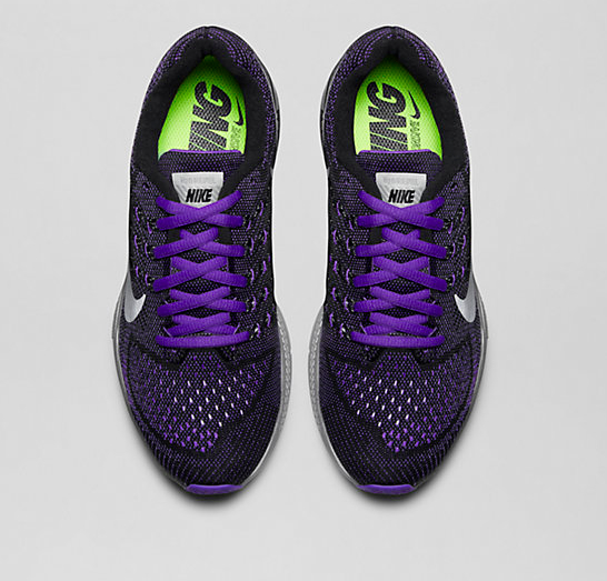 Nike running shoes blue