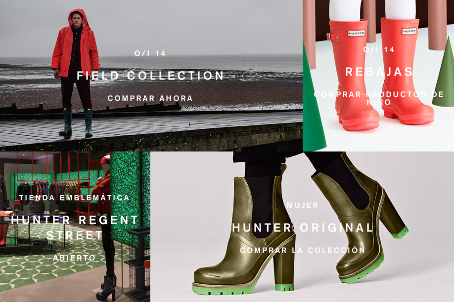 Botas Hunter originales modelos 2015