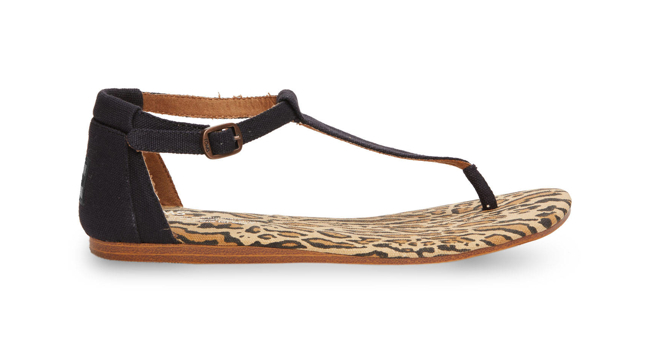 Sandalias Animal Print de Leopardo 2015