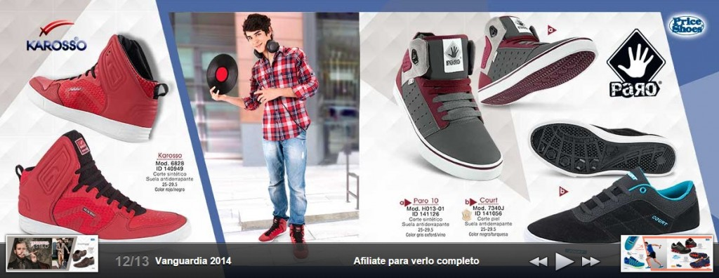 Botines para caballero en Price Shoes 2015
