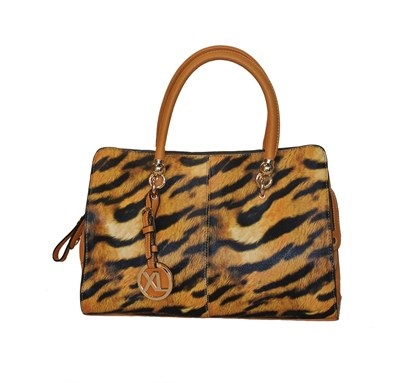 Bolso XL con estampado Animal Print de Leopardo