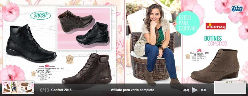 Botines y calzado en Price Shoes 2015