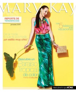 Folleto Reporte de Tendencias Mary Kay Marzo