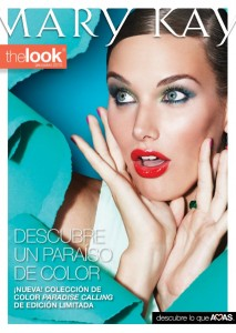 Folleto The Look Mary Kay Marzo