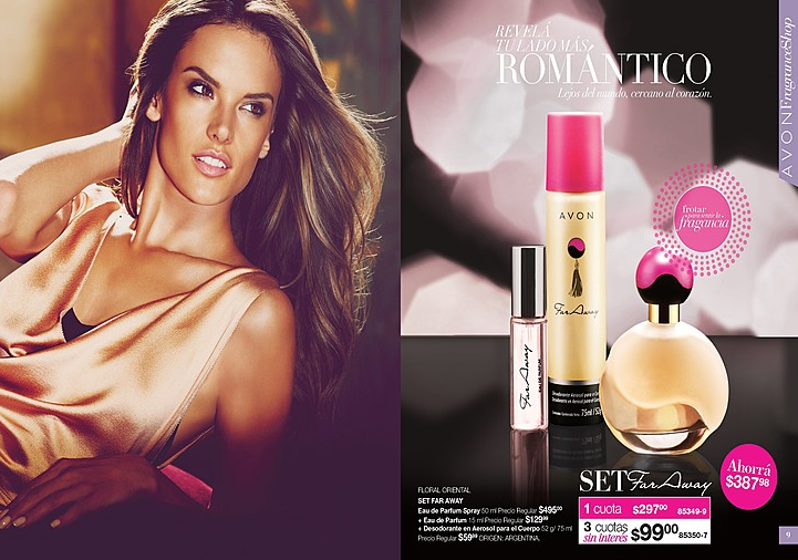 Fragancia Far Away de Avon 2015