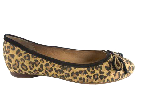 Bailarinas con estampado Animal Print