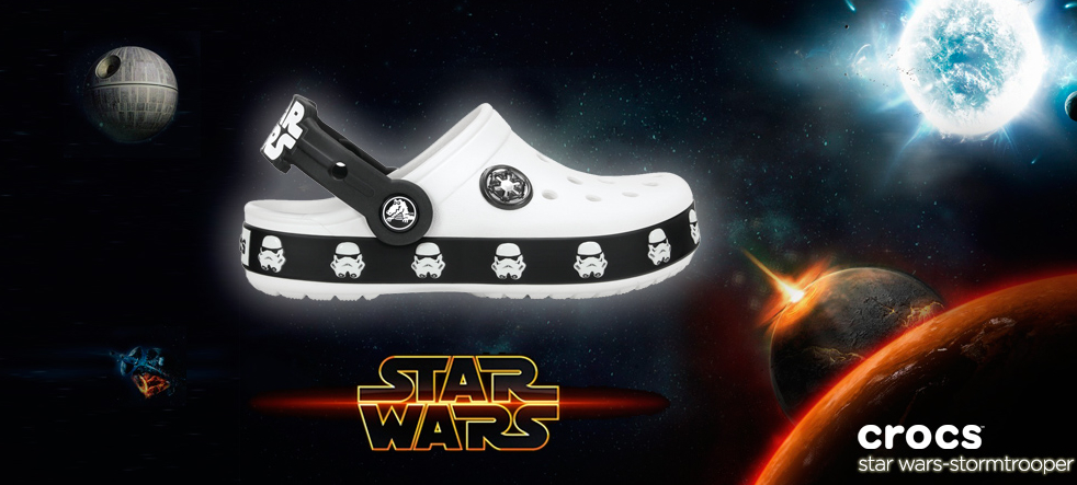 Modelo Crocs Star Wars