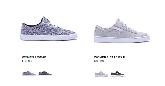 Zapatillas femeninas en Supra Shoes 2015