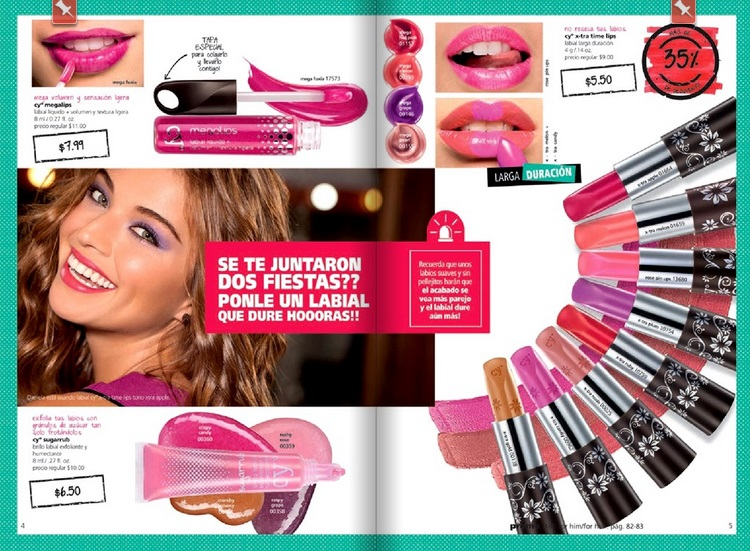 Labiales y Gloss en colores divertidos Cyzone